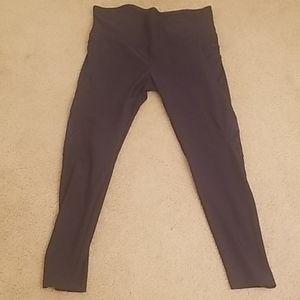 Vogo Athletica Black Leggings, Size XL